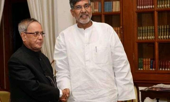 satyarthi s nobel prize to be put up for display at