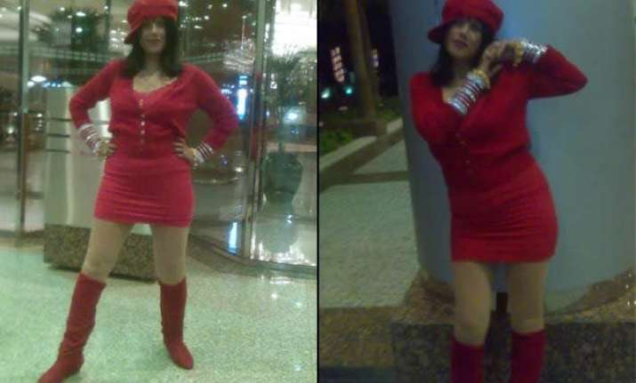 radhe maa located at aurangabad hotel cops quiz her for