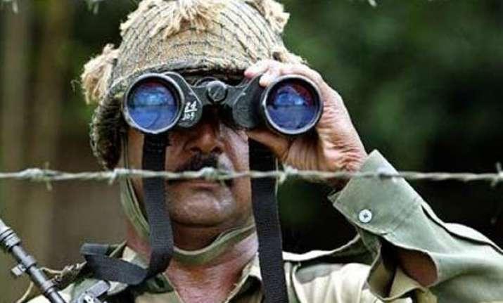 bsf warns pakistan against any misadventure cites zero