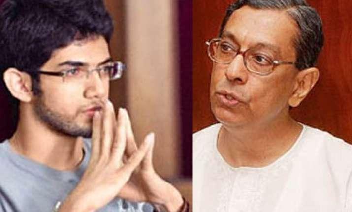 mumbai xavier principal takes on shiv sena and aditya