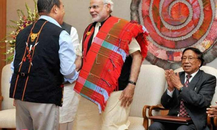 nagaland delegation to meet central leaders for peace talks