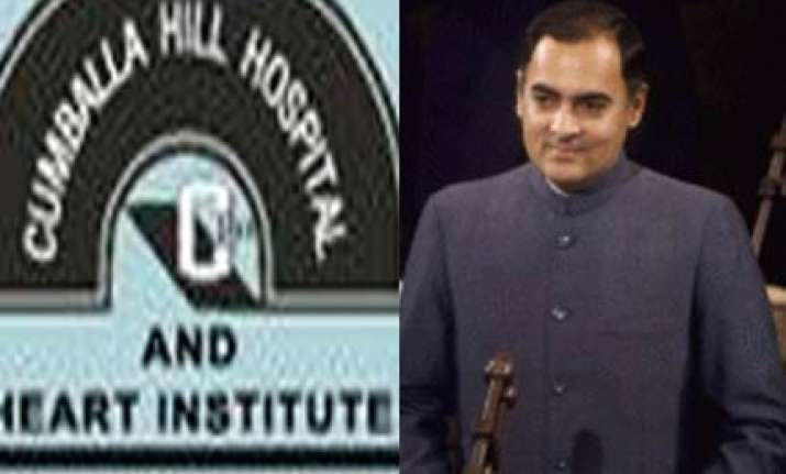 place where rajiv was born will be razed