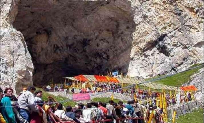 amarnath yatra halted on baltal route