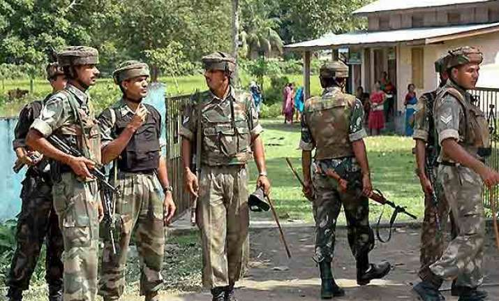 eight assam rifles men killed in nagaland militant attack