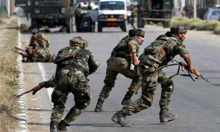 2 army jawans 5 militants killed in gunfight in kashmir s