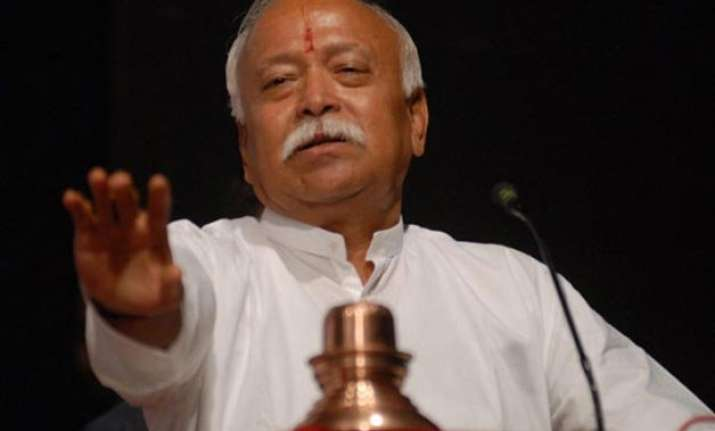 indians known as hindus when they go abroad mohan bhagwat