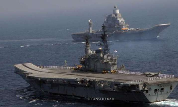 india us and japan kick off joint naval exercise