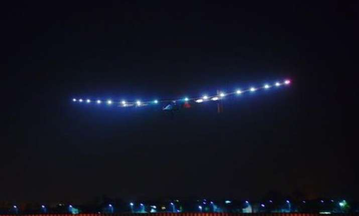 know everything about the solar plane whirling across the