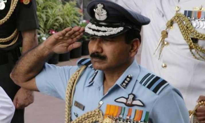 iaf chief raha concerned over delays in tejas sitara