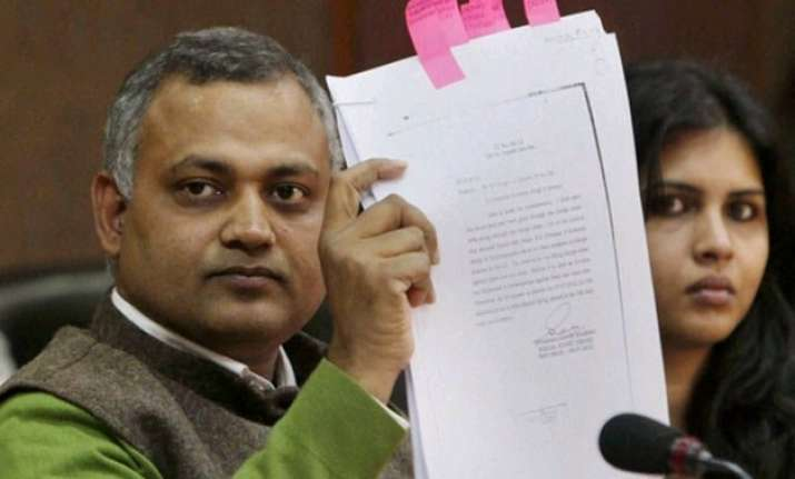mid night raid hc rejects somnath bharti s plea for video