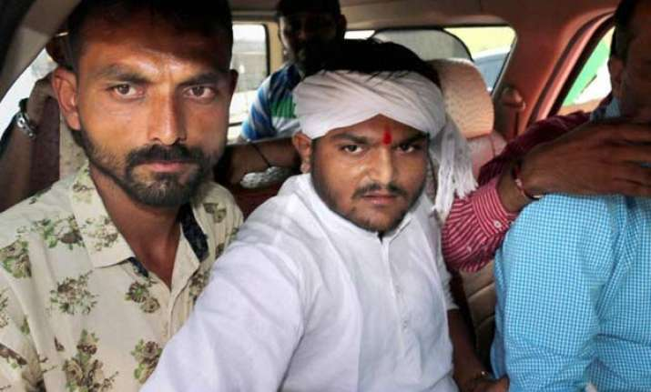 hardik patel writes to cm threatens second round of stir