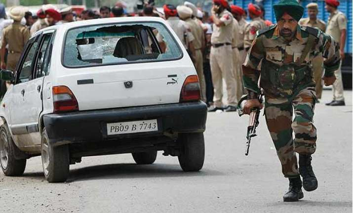 live encounter over in gurdaspur all 3 militants killed
