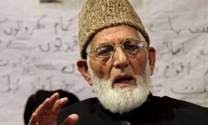 hurriyat conference chairman syed geelani slams isis