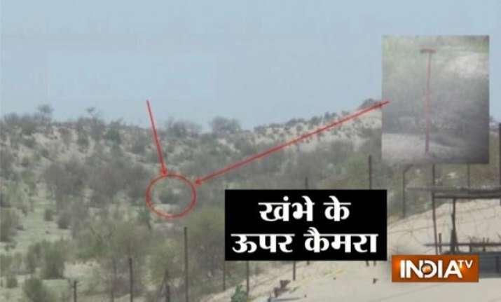 pakistani troops using uavs cameras to spy on india bsf