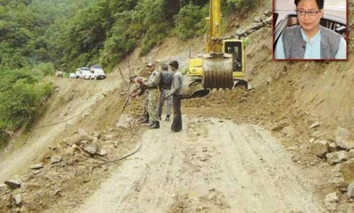 will go ahead with construction of roads in arunachal centre