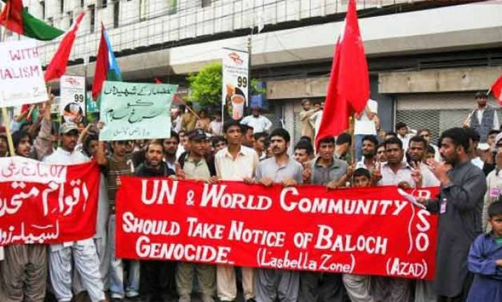 after pok india to expose pakistan s baloch policy