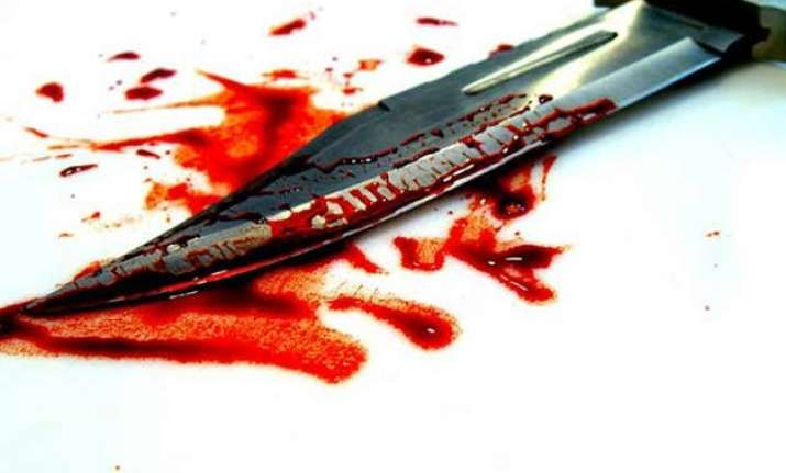 wife stabs husband to death in ghaziabad