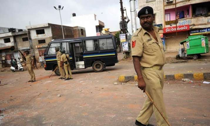 patel quota row gujarat limps back to normalcy curfew lifted