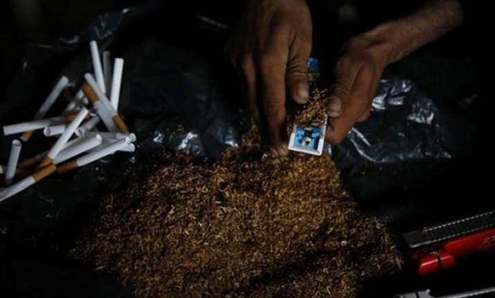study warns of increase in manufacture of chewing tobacco