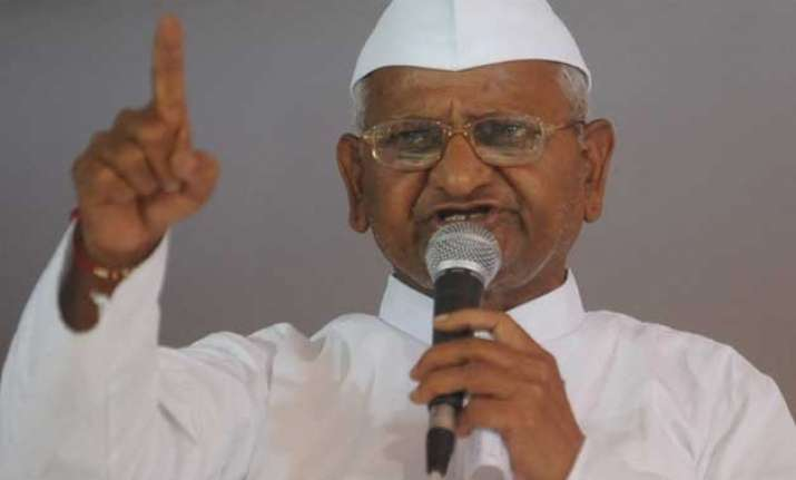 kejriwal rahul can join protest but not share stage hazare