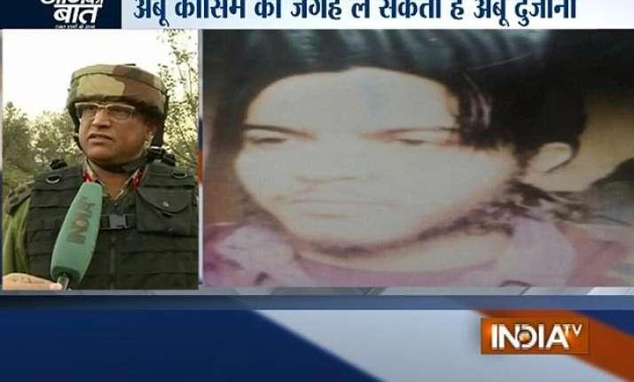 abu dujana likely to be new commander of lashkar e taiba in
