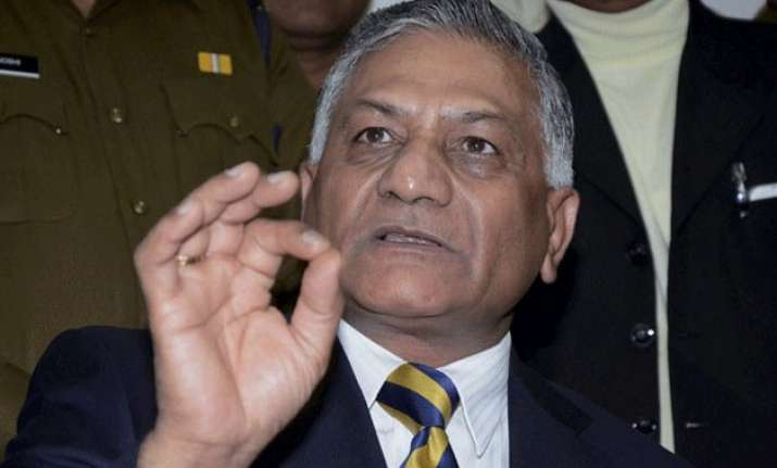 go abroad for jobs only through recognised agents vk singh