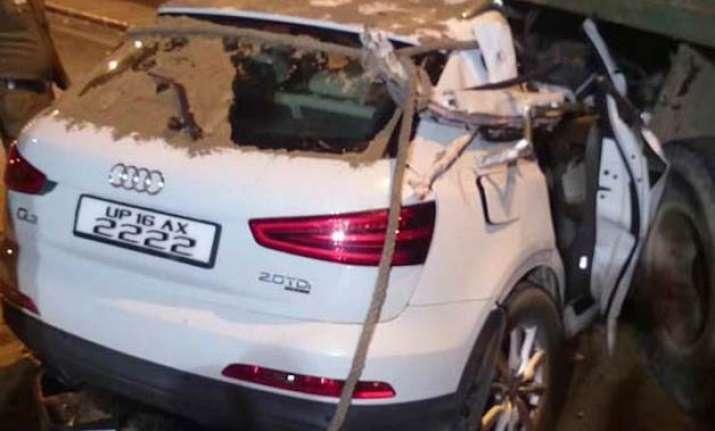 delhi road rage toddler hit by speeding audi car dead