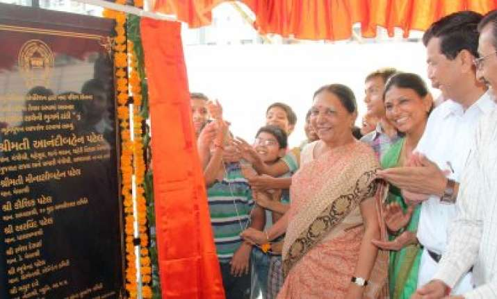 gujarat cm inaugurates projects worth rs 208 crore