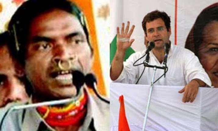 bjp questions maoist sympathizer garlanding rahul