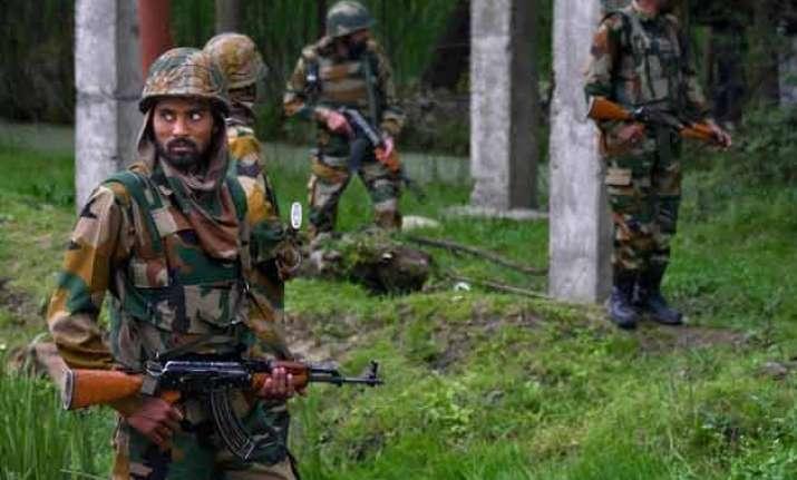 two guerrillas gunned down in kashmir