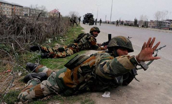 three injured in attack on army camp in jammu