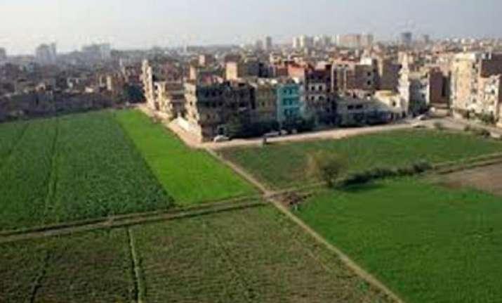 hastinapur sanctuary land grab six revenue clerks suspended