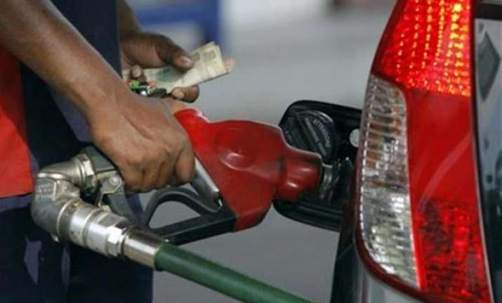 petrol prices fall by 32 paise diesel by 85 paise
