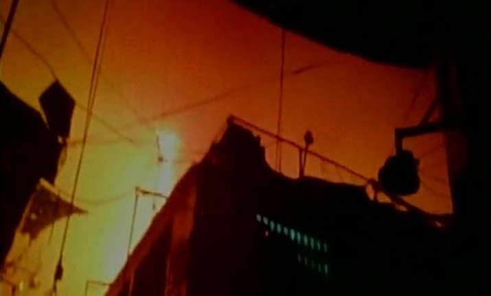 major fire in south mumbai s crawford market