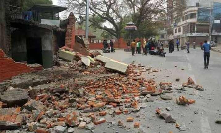 17 dead 48 injured in earthquake in bihar