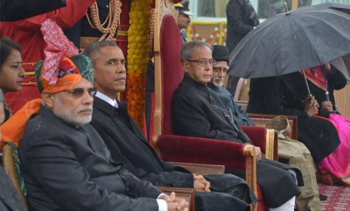 republic day obama becomes first us president to be chief