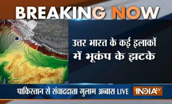 mild tremors felt across north india including delhi ncr