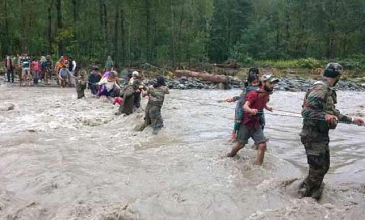 security agencies fear militant groups may lure flood hit