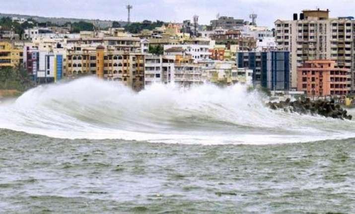 hudhud vizag still reeling under cyclone impact