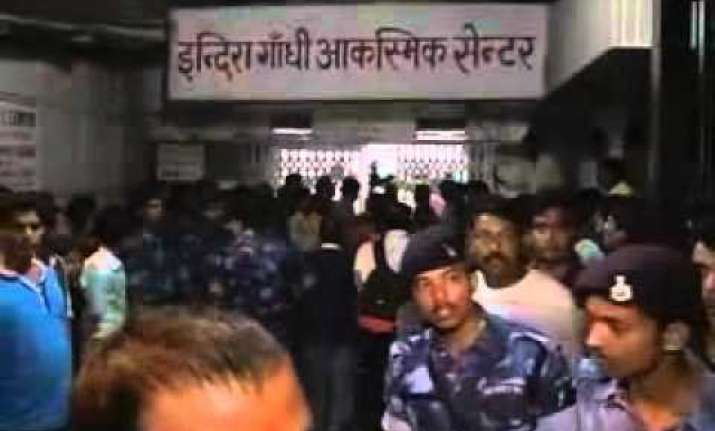 patna stampede angry crowd turns violent eye witnesses