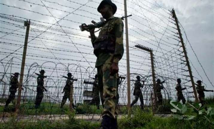 pakistan targets 10 posts along loc in poonch woman injured