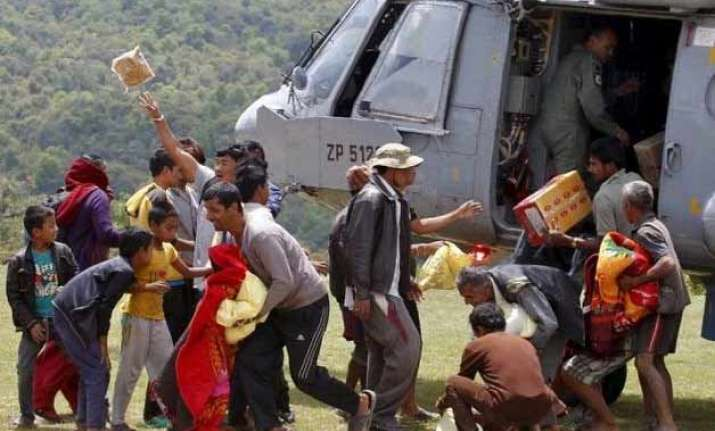 relief material sent to nepal by ssb siliguri