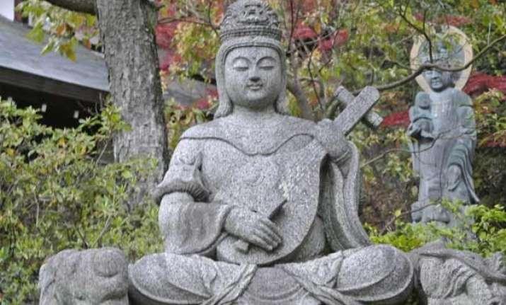 hindu gods forgotten in india worshipped in japan