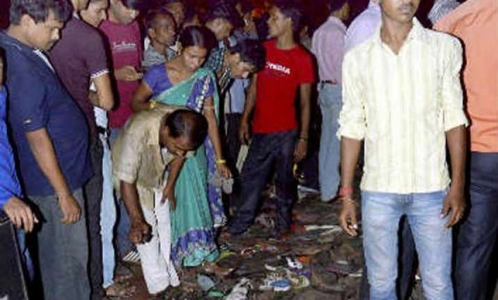patna stampede tragedy due to suffocation says district