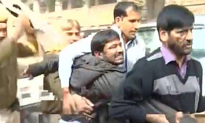 nhrc indicts delhi police says attack on jnu leader was pre