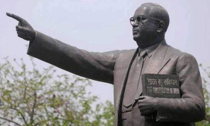 ambedkar s statue found broken case registered