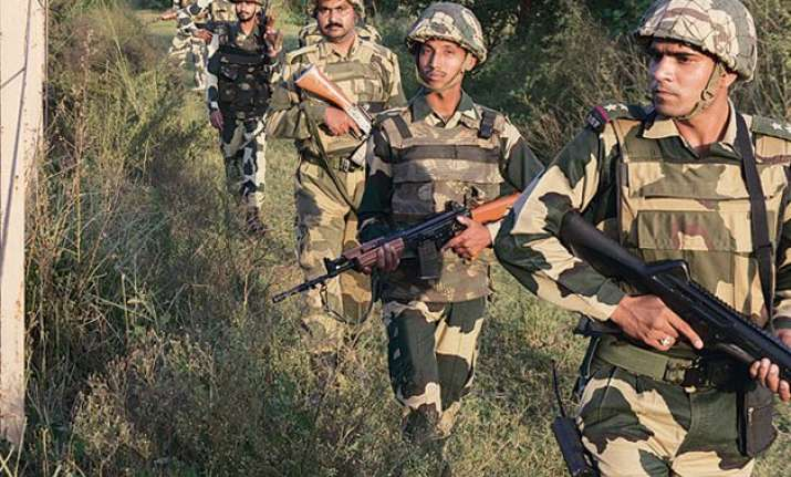 bsf unearths 30 feet long underground tunnel near