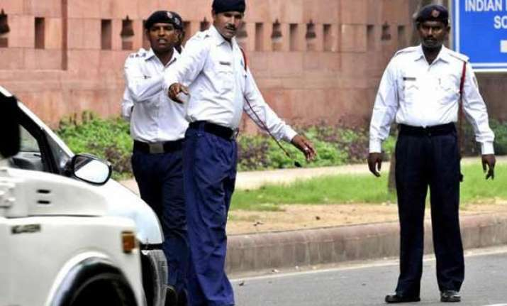 delhi police to cordon off areas during india africa summit