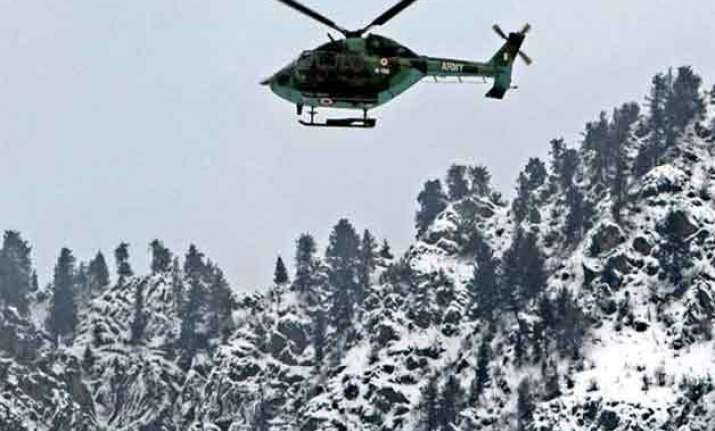avalanche warning issued in jammu and kashmir
