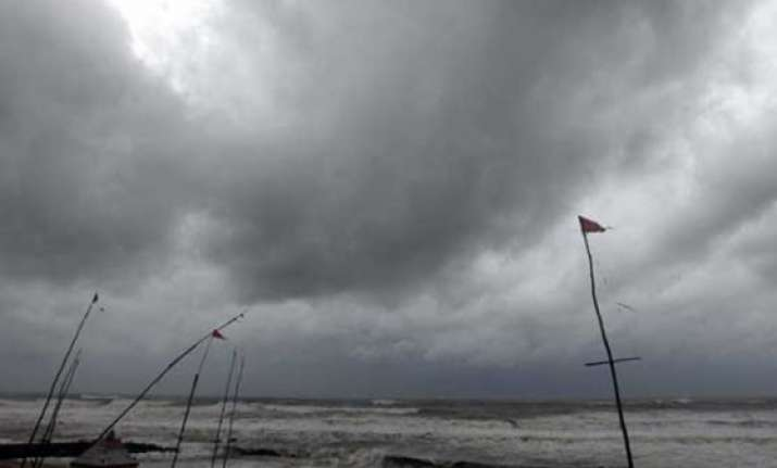 hudhud effect heavy rains lash parts of odisha over 45 000